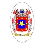 Menazzi Sticker (Oval 50 pk)