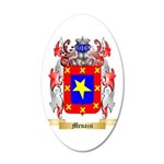Menazzi 20x12 Oval Wall Decal