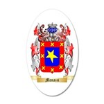 Menazzi 35x21 Oval Wall Decal