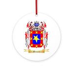 Menacci Round Ornament