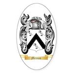 Memon Sticker (Oval)