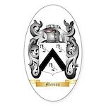 Memon Sticker (Oval 50 pk)