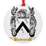 Memo Round Ornament