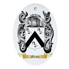 Memo Oval Ornament