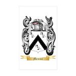 Memmi Sticker (Rectangle 50 pk)