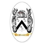 Memmi Sticker (Oval 10 pk)