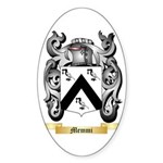 Memmi Sticker (Oval 50 pk)