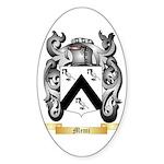 Memi Sticker (Oval 10 pk)