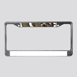 skull sloth License Plate Frame