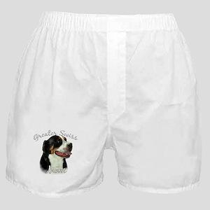 Swissy Mom2 Boxer Shorts
