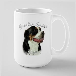 Swissy Mom2 Large Mug