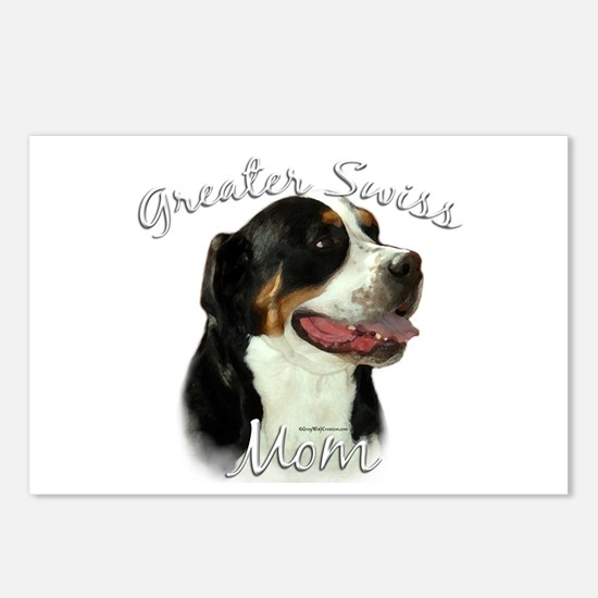 Swissy Mom2 Postcards (Package of 8)