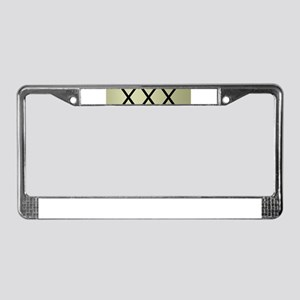 moonshine License Plate Frame