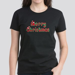 Merry Christmas Women's Dark T-Shirt
