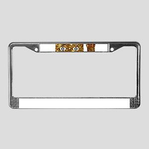 maneki neko cat License Plate Frame