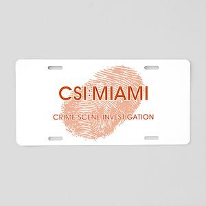 CSI:MIAMI Aluminum License Plate