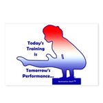 Gymnastics Postcards (8) - Training
