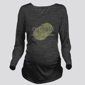 CSI:MIAMI Long Sleeve Maternity T-Shirt