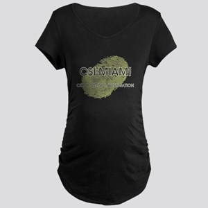 CSI:MIAMI Maternity Dark T-Shirt