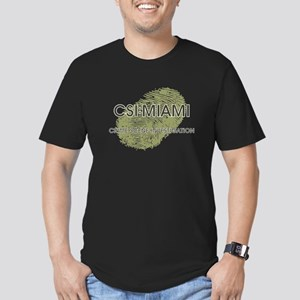 CSI:MIAMI Men's Fitted T-Shirt (dark)