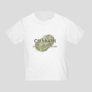 CSI:MIAMI Toddler T-Shirt