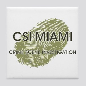 CSI:MIAMI Tile Coaster