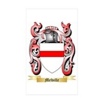 Melville Sticker (Rectangle 50 pk)