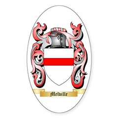 Melville Sticker (Oval)
