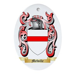 Melville Oval Ornament