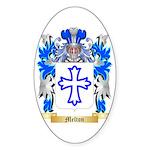 Melton Sticker (Oval 50 pk)