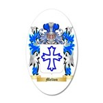 Melton 35x21 Oval Wall Decal