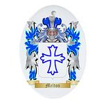 Melton Oval Ornament