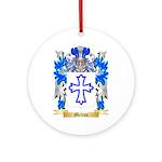 Melton Round Ornament
