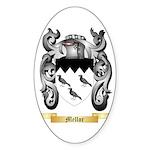 Mellor Sticker (Oval 50 pk)