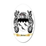 Mellor 20x12 Oval Wall Decal
