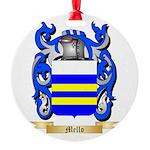 Mello Round Ornament