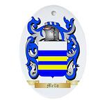 Mello Oval Ornament