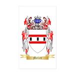 Mellett Sticker (Rectangle 50 pk)