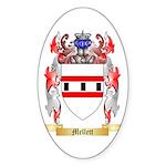 Mellett Sticker (Oval 10 pk)