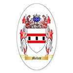 Mellett Sticker (Oval 50 pk)