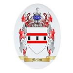 Mellett Oval Ornament