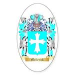 Mellerick Sticker (Oval 50 pk)