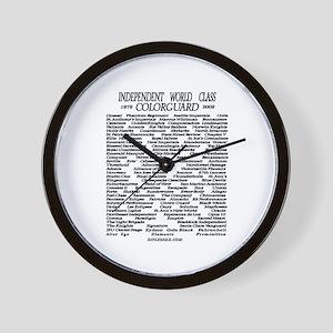 World Class History 1978-2009 Wall Clock