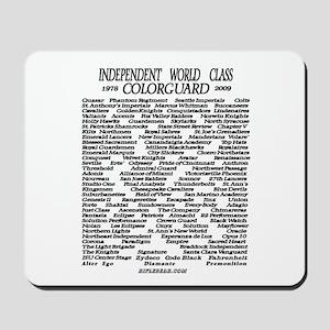World Class History 1978-2009 Mousepad