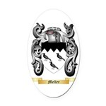 Meller Oval Car Magnet
