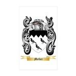 Meller Sticker (Rectangle 50 pk)