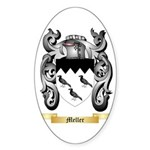 Meller Sticker (Oval 50 pk)