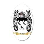 Meller 20x12 Oval Wall Decal