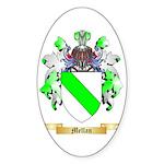 Mellan Sticker (Oval 10 pk)