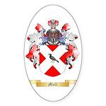 Mell Sticker (Oval 50 pk)
